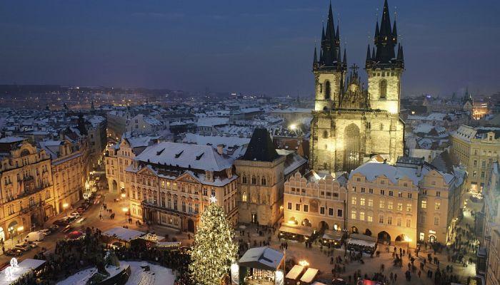Adventní Praha