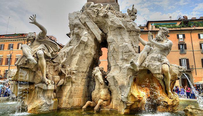 Umělecký Řím + NEJZAJÍMAVĚJŠÍ DÍLA ITALSKÝCH MISTRŮ