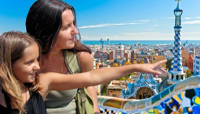 Barcelona pro rodiče a děti + MOŘE