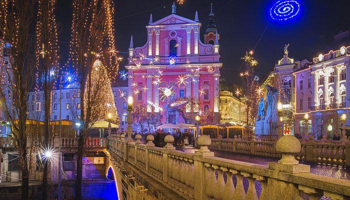 Adventní Lublaň + GRAZ