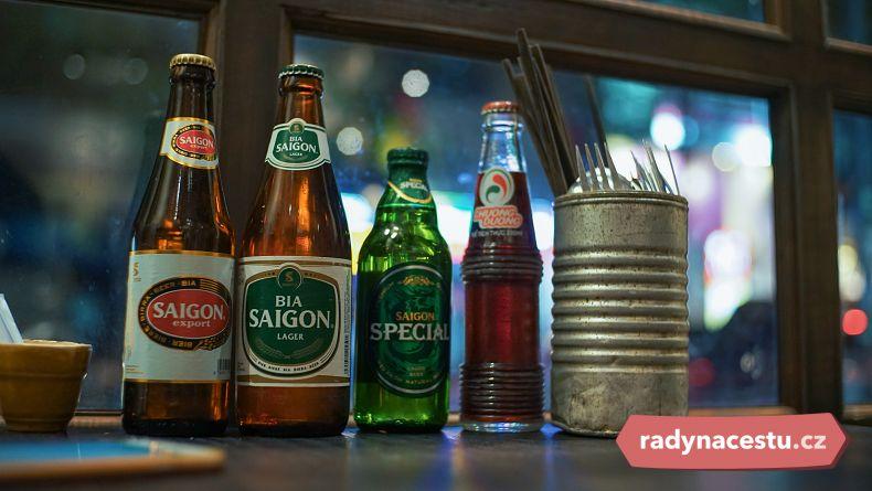 Pivo ve Vietnamu je velmi levné