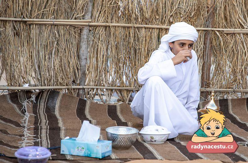 Dáte si arabský čaj?