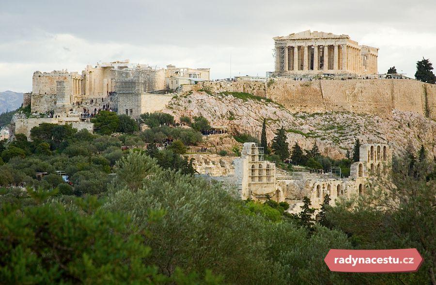 Akropolis Nejposvátnější Místo V Athénách Magazín Radynacestu Cz
