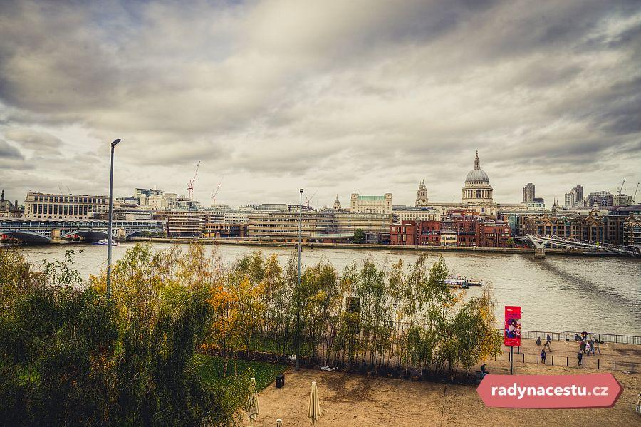 Tiché rande v Londýně