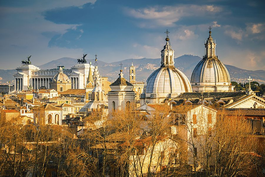 Řím panorama II