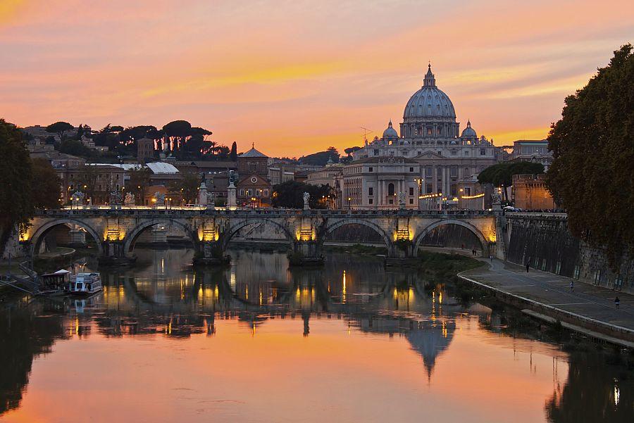 Večerní Řím