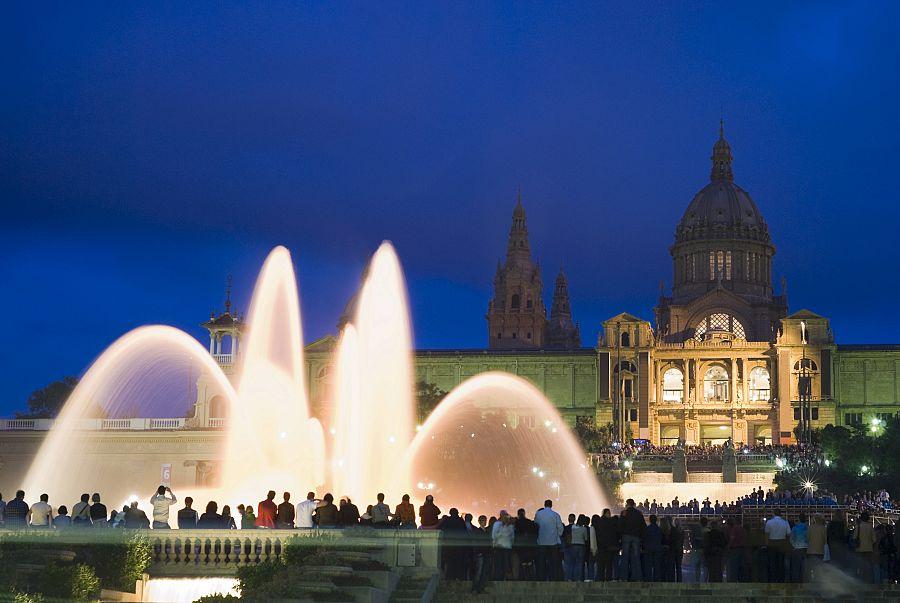 Barcelona - Magická fontána