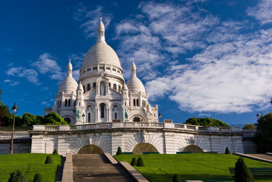 Paříž - bazilika Sacré Coeur