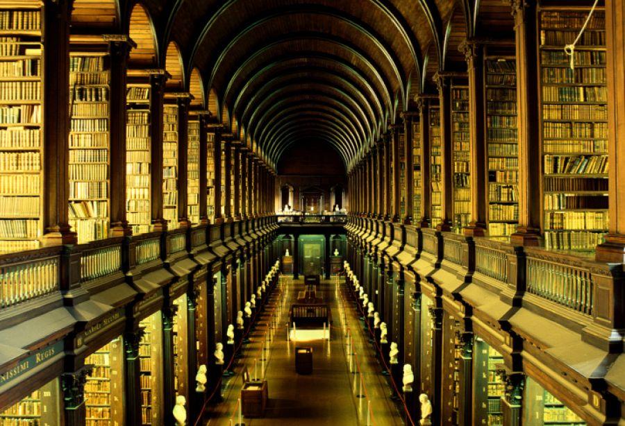 Dublin - Trinity College - knihovna