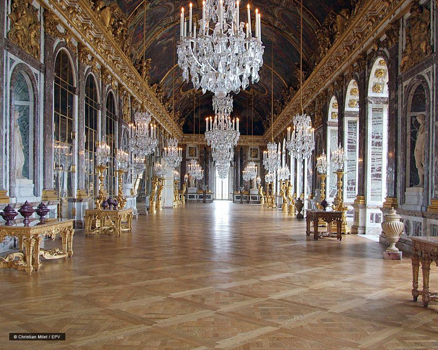Zámek Versailles - Zrcadlová síň