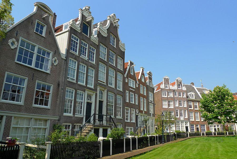 Nizozemí - čtvrť Begijnhof