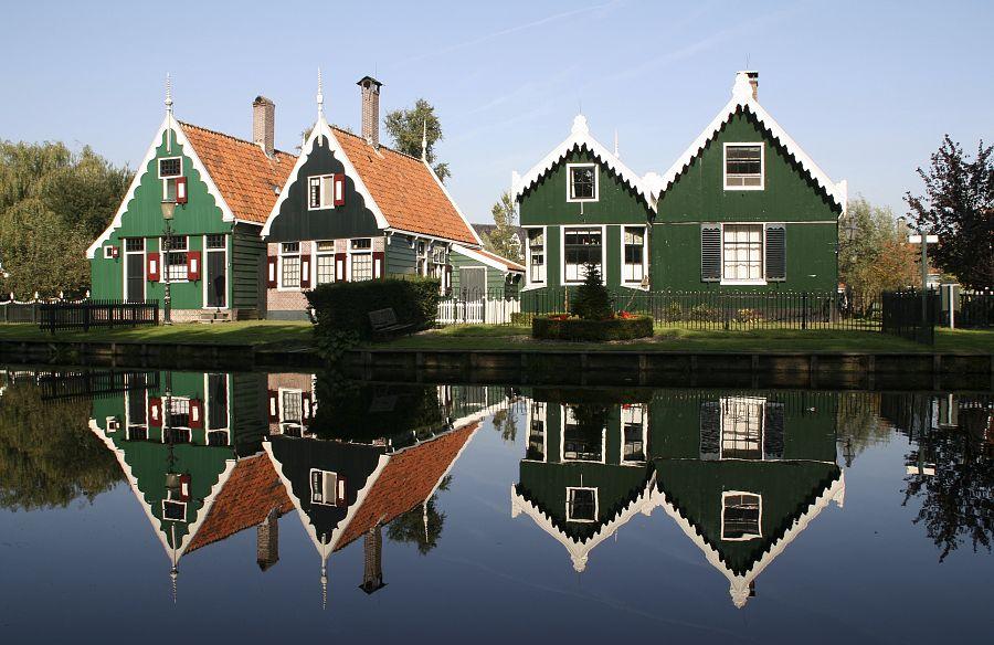Nizozemí - Zaanse Schans