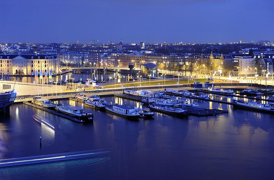 Amsterdam - noční pohled