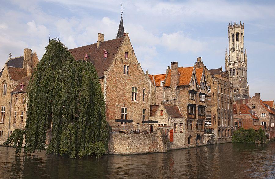 Brugge - pohled