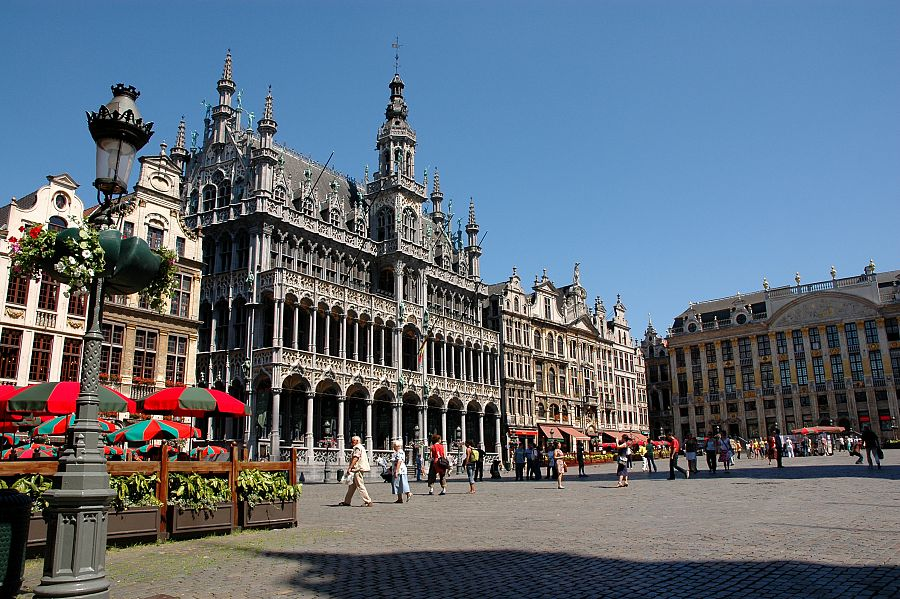 Brussel - náměstí