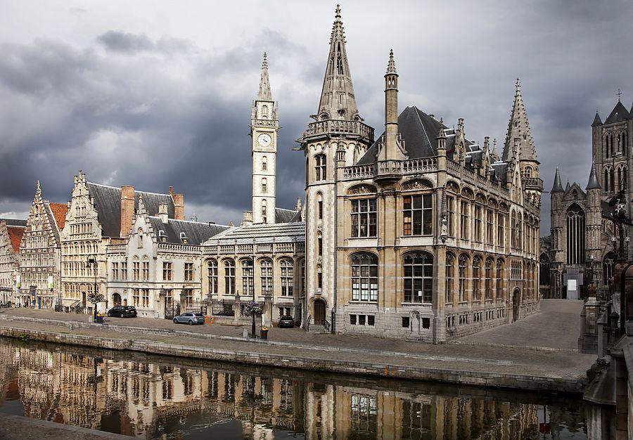 Ghent - kostel