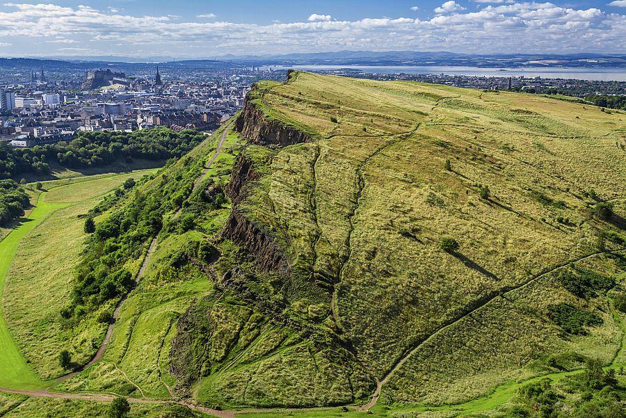 Edinburgh - hory