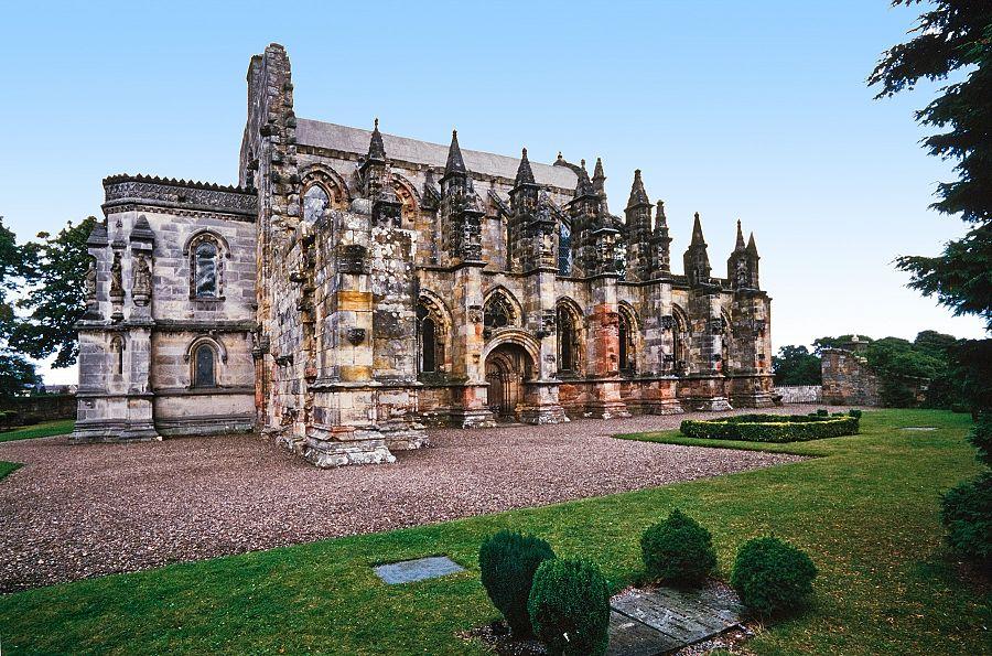 Edinburgh - Rosslynská kaple