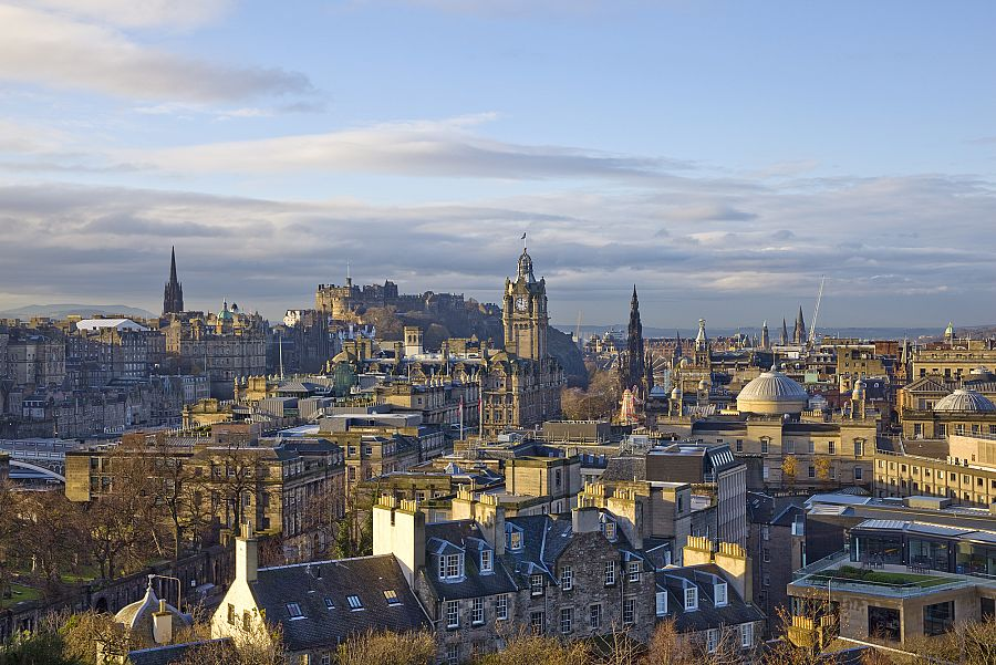 Edinburgh - panorama