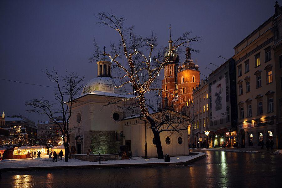 Krakov - kostel sv. Vojtěch