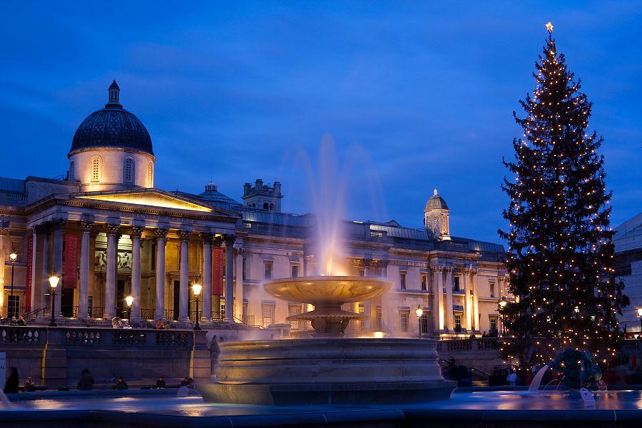 Londýn - Trafalgar Square
