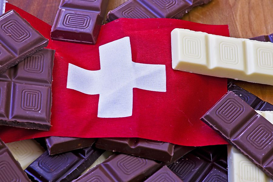 Švýcarsko - čokoláda