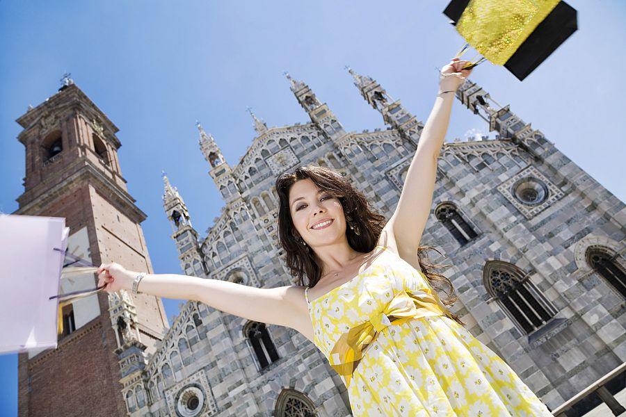 Milán - nákupy