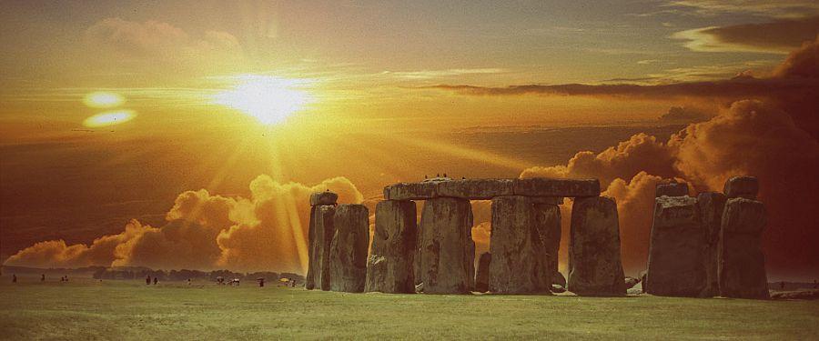 Anglie - Stonehenge