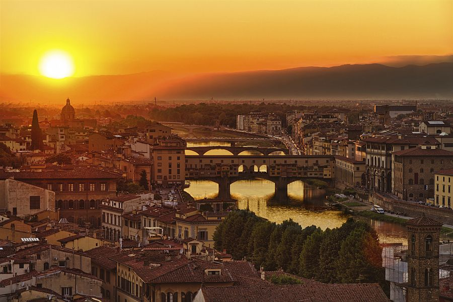 Toskánsko - Florencie