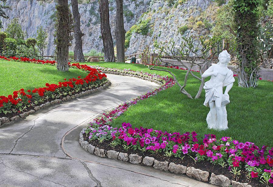 Capri - Augustovy zahrady