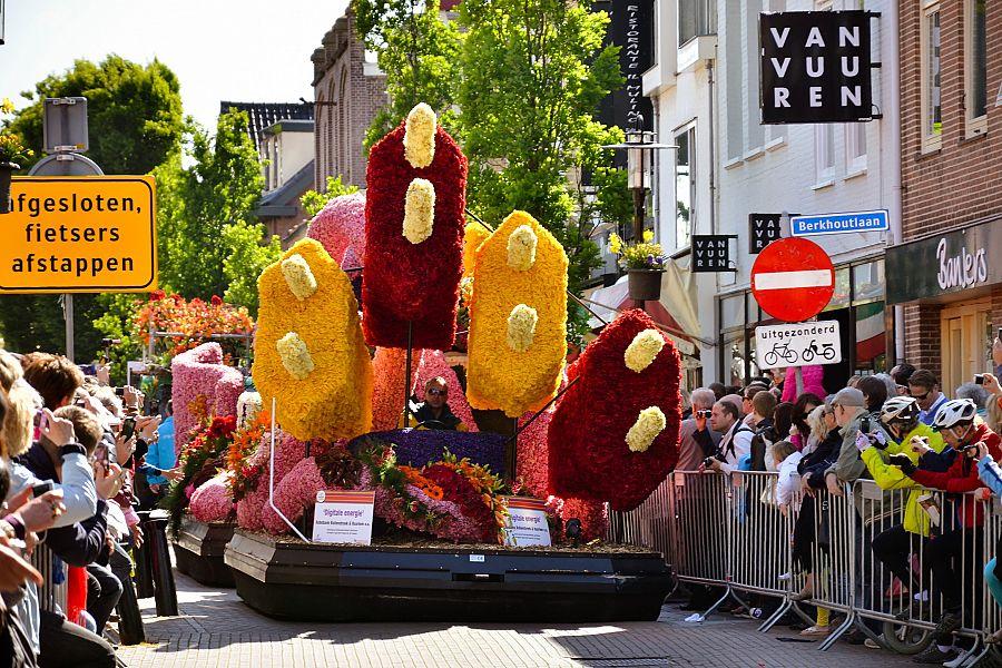 Holandsko - květinové korzo