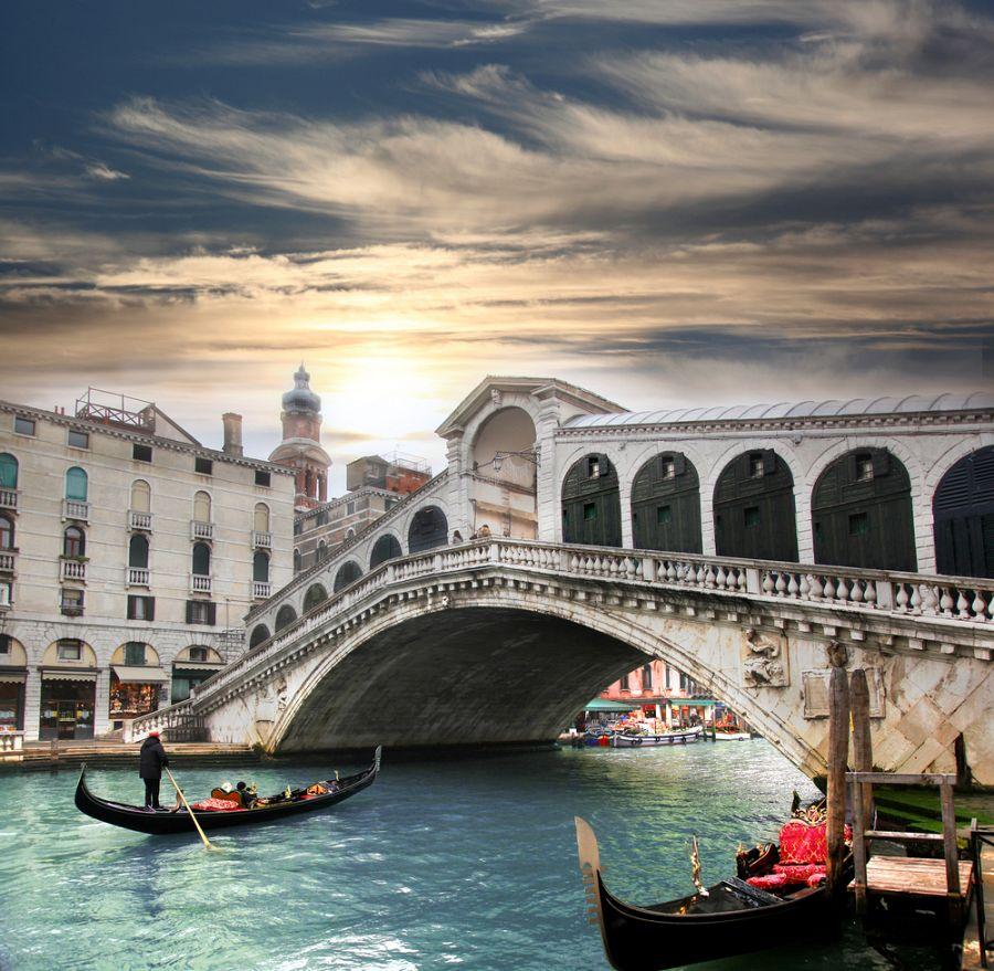Benátky - Ponte di Rialto
