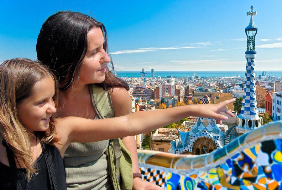 Barcelona pro rodiče a děti + MOŘE (letecky z Prahy)