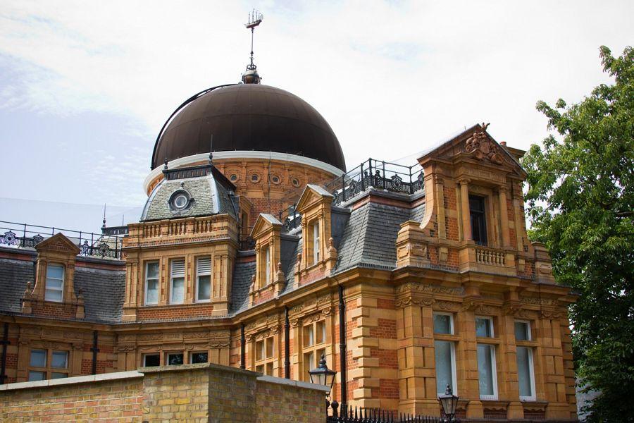 Greenwich pohled na královskou observatoř