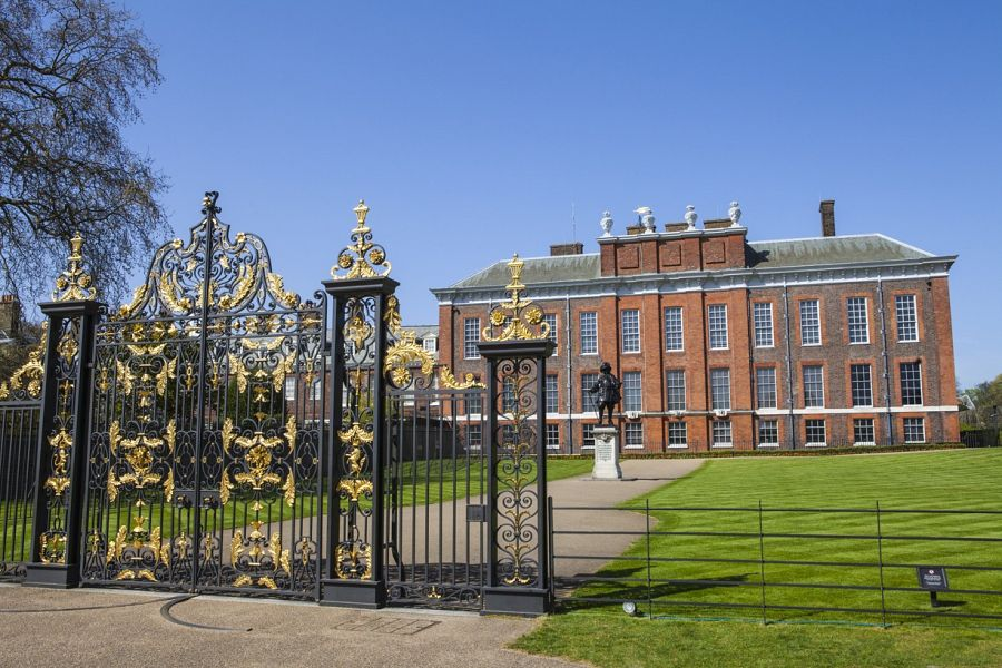 Pohled na Kensington Palace
