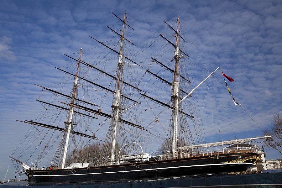 Greenwich - čajový klipr Cutty Sark