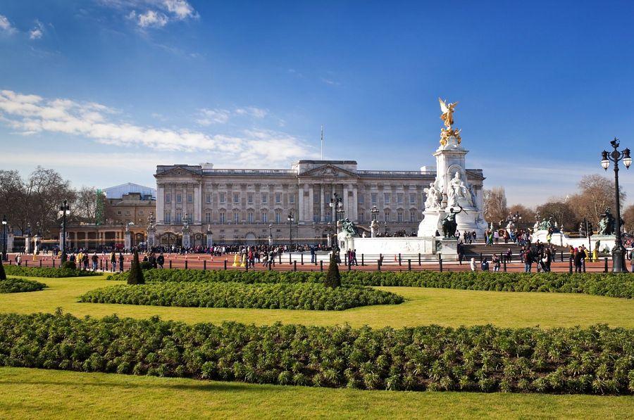 Pohled na Buckingham Palace I