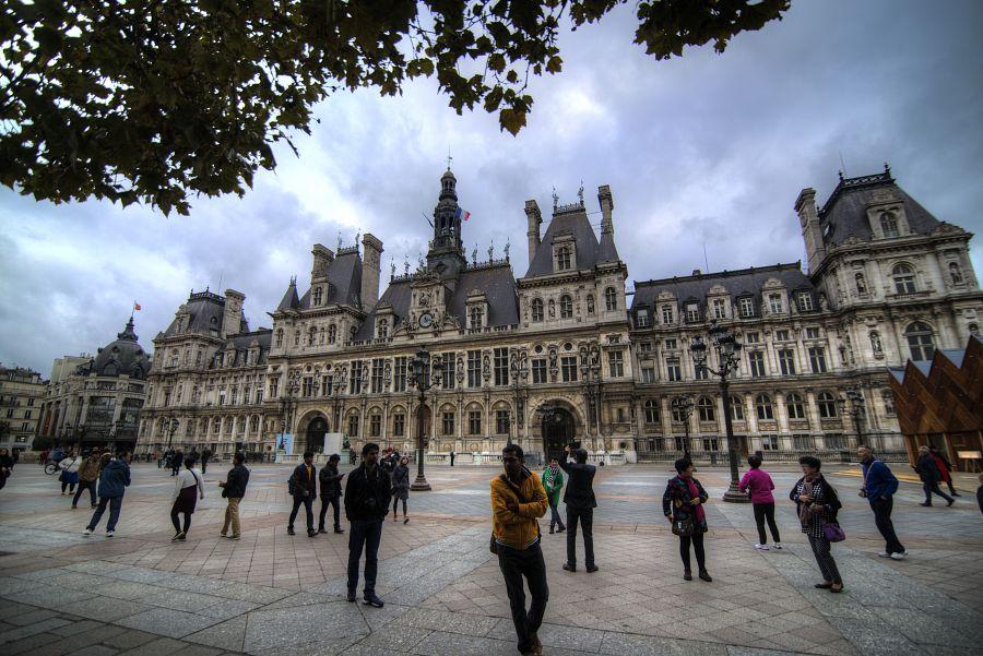 Pařížská radnice - Hotel de ville