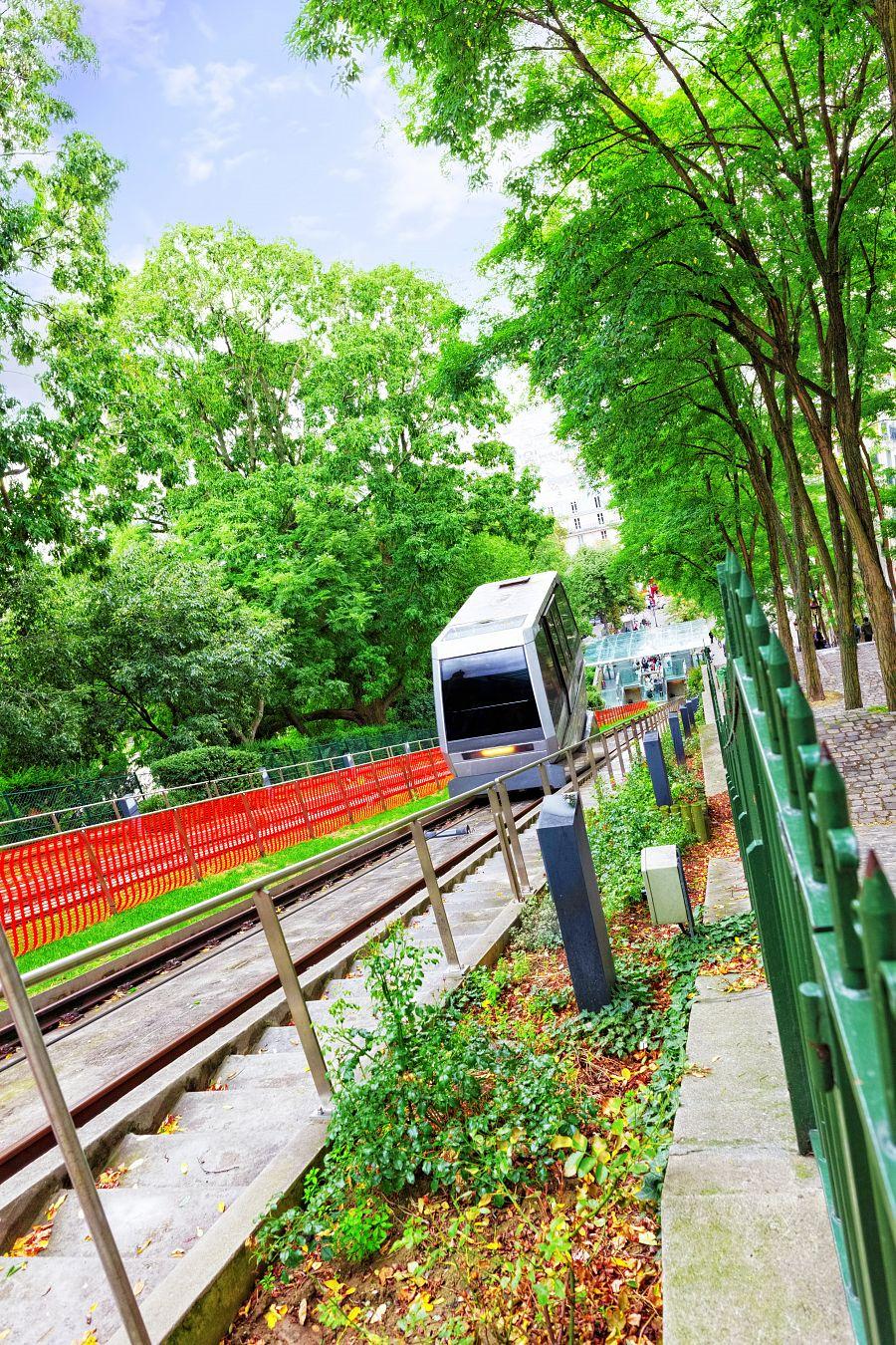 Montmartre - lanovka