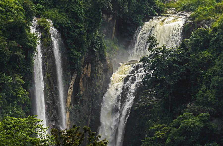 Vodopád Ramboda