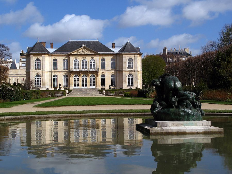 Rodinovo muzeum a Hotel Biron
