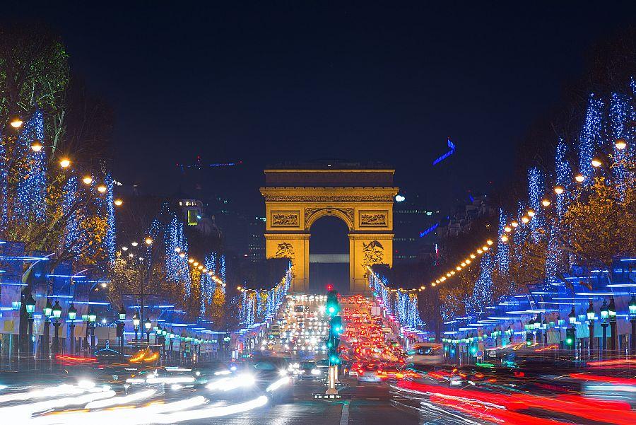 Vánoční Champs Elysées