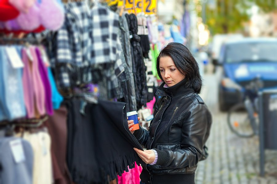 New York - nákupy