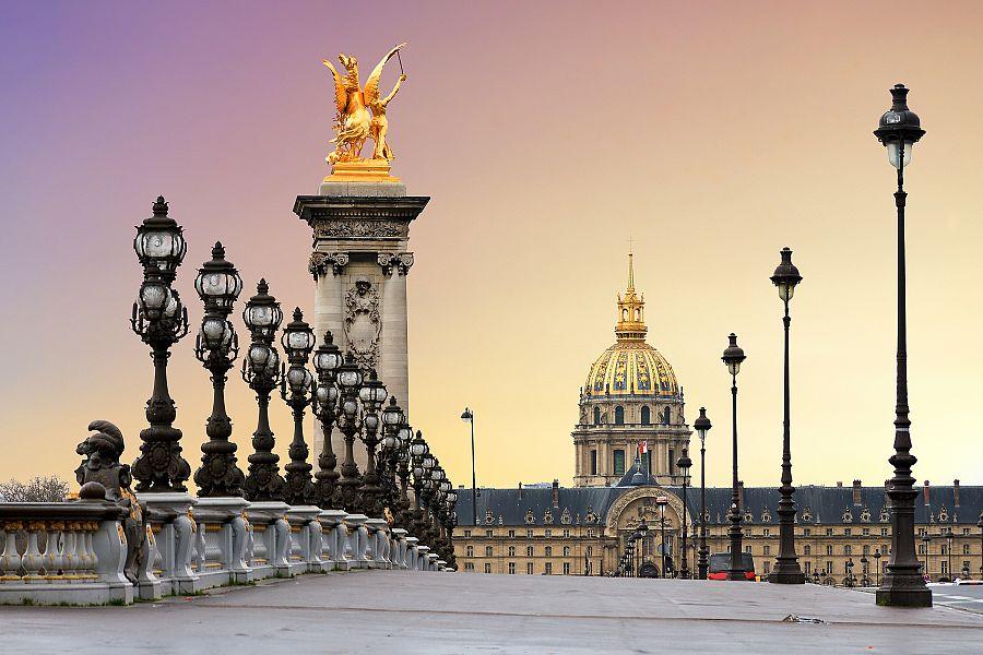 Paříž - most Alexandra III