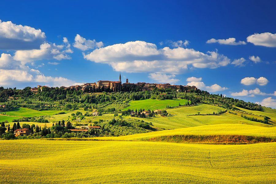 Siena - Toskánsko