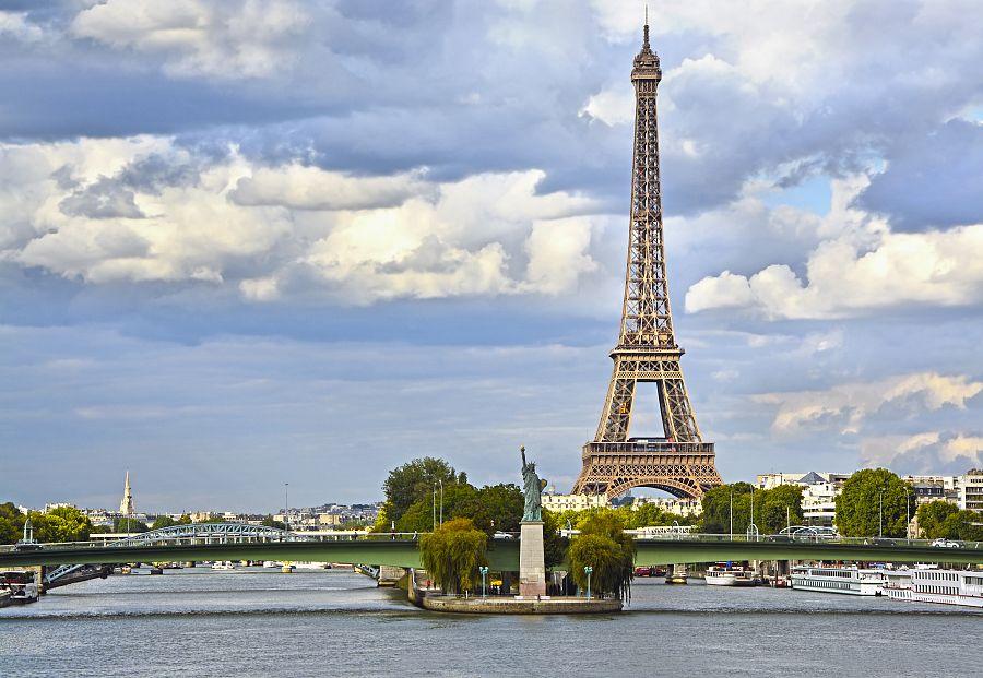 Paříž Socha svobody