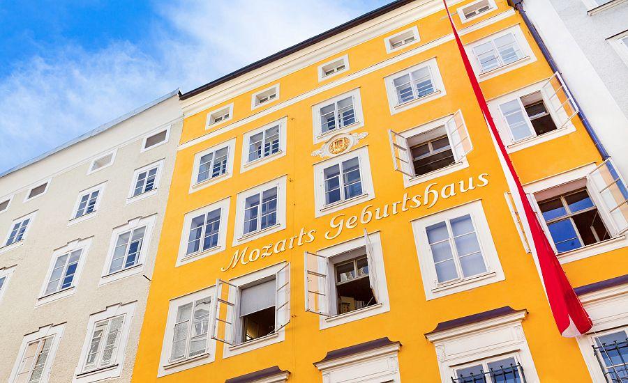 Rodný dům W. A. Mozarta v Salzburgu