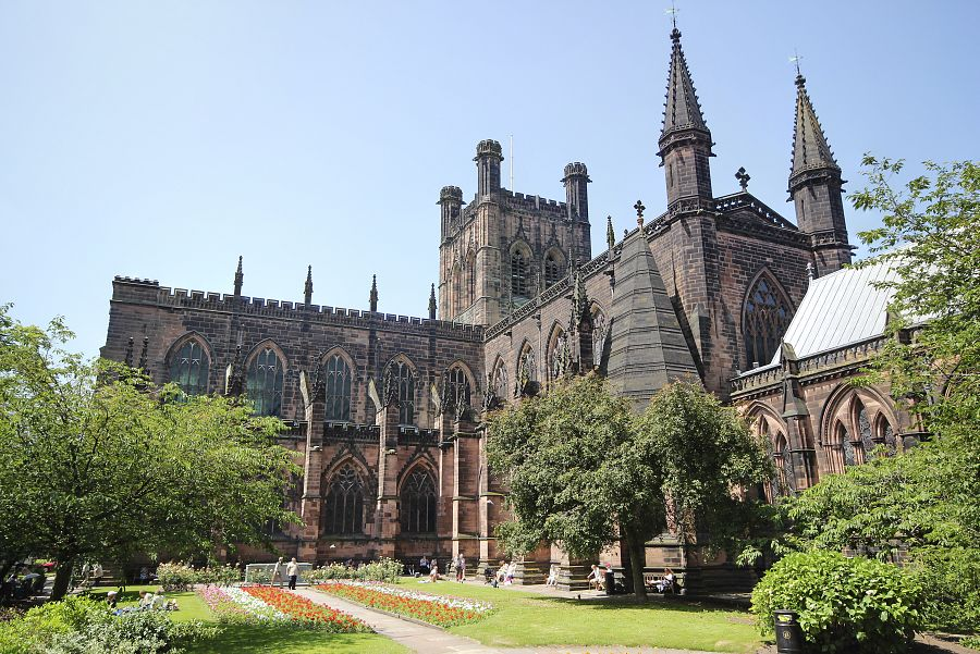 Chester Cathedral, Cheshire, England, UK