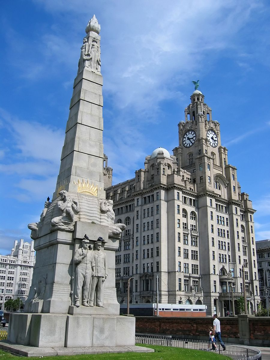 Titanic Monument at Liverpool England