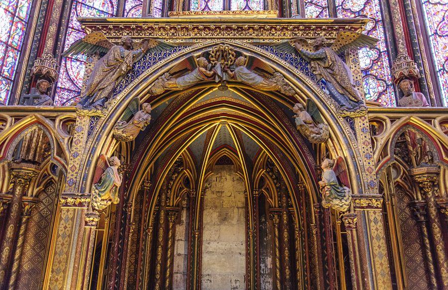 Paříž - Svatá kaple